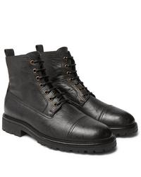 Stivali casual in pelle neri di Belstaff