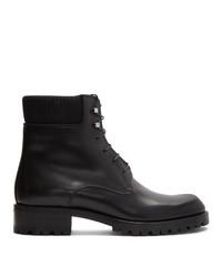 Stivali casual in pelle neri di Christian Louboutin