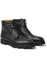 Stivali casual in pelle neri di John Lobb