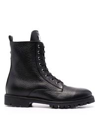 Stivali casual in pelle neri di Philipp Plein