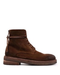 Stivali casual in pelle scamosciata marrone scuro di Marsèll