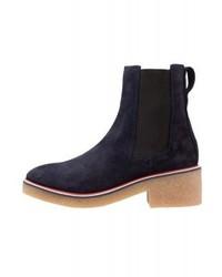 Stivali chelsea blu scuro di Tommy Hilfiger