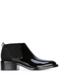 Stivali chelsea in pelle con borchie neri di 3.1 Phillip Lim