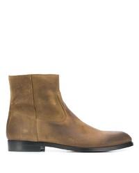 Stivali chelsea in pelle marroni di Buttero