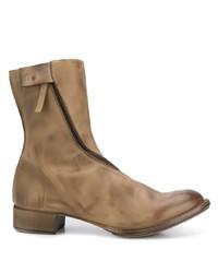 Stivali chelsea in pelle marroni di Cherevichkiotvichki