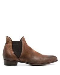 Stivali chelsea in pelle marroni di Lidfort