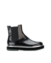 Stivali chelsea in pelle neri di AGL