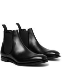 Stivali chelsea in pelle neri di Church's