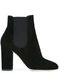 Stivali chelsea in pelle neri di Dolce & Gabbana