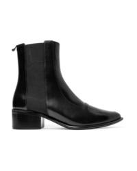 Stivali chelsea in pelle neri di Loewe