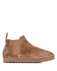 Stivali chelsea in pelle scamosciata marroni di Marsèll