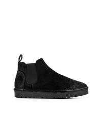 Stivali chelsea in pelle scamosciata neri di Marsèll