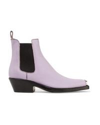 Stivali chelsea in pelle viola chiaro di Calvin Klein 205W39nyc