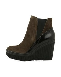 Stivali chelsea marrone scuro di Calvin Klein