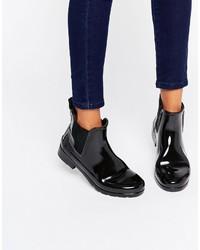 Stivali chelsea neri di Hunter