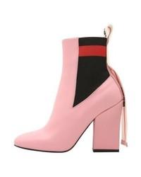 Stivali chelsea rosa di MSGM
