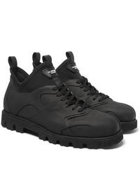 Stivali da lavoro di tela neri