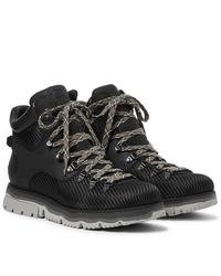 Stivali da lavoro di tela neri di Sorel