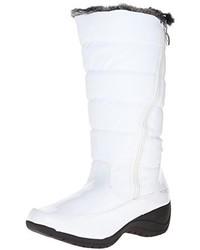 Stivali da neve bianchi