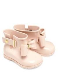 Stivali di gomma beige