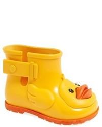 Stivali di gomma gialli