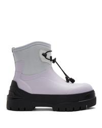 Stivali di gomma grigi