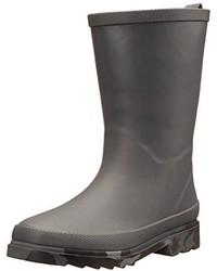 Stivali in gomma grigio scuro