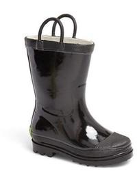 Stivali di gomma neri