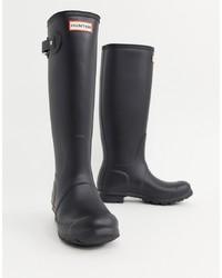 Stivali di gomma neri di Hunter