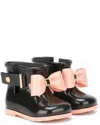 Stivali di gomma neri di Mini Melissa