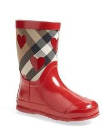 Stivali di gomma rossi