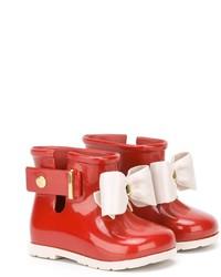 Stivali di gomma rossi di Mini Melissa