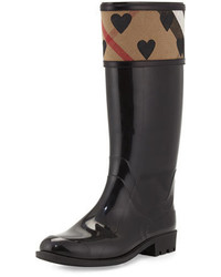 Stivali di gomma scozzesi neri