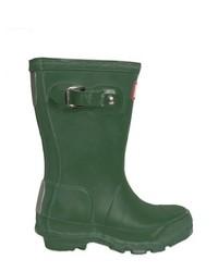 Stivali di gomma verde scuro