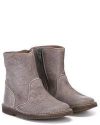 Stivali in pelle grigi di Pépé