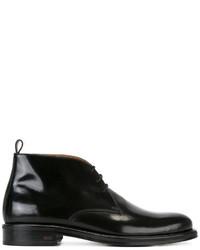 Stivali in pelle neri di AMI Alexandre Mattiussi