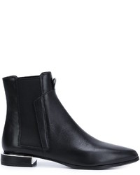 Stivali in pelle neri di Kenzo