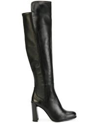 Stivali sopra il ginocchio neri di Stuart Weitzman