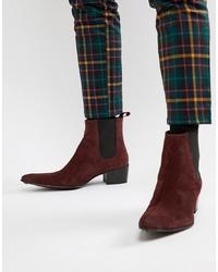 Stivali texani bordeaux di Jeffery West