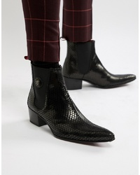 Stivali texani neri di Jeffery West