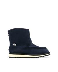 Stivali ugg blu scuro di Suicoke