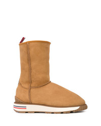Stivali ugg marrone chiaro di Moncler