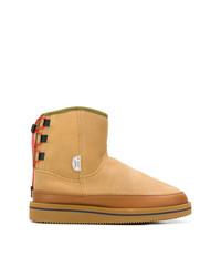 Stivali ugg marrone chiaro di Suicoke