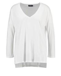 T-shirt a maniche lunghe bianca di Ralph Lauren