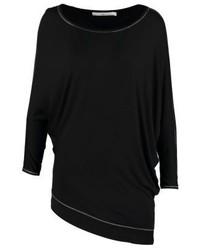 T-shirt a maniche lunghe nera di Aaiko