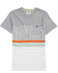 T-shirt a righe orizzontali