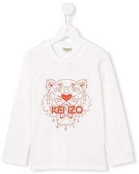 T-shirt bianca di Kenzo