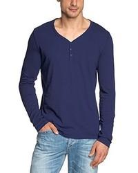 T-shirt blu scuro di s.Oliver Denim