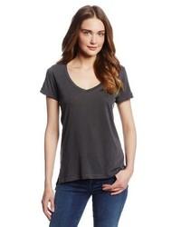T-shirt con scollo a v grigia di Splendid