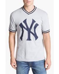 T shirt con scollo a v stampata original 4027710